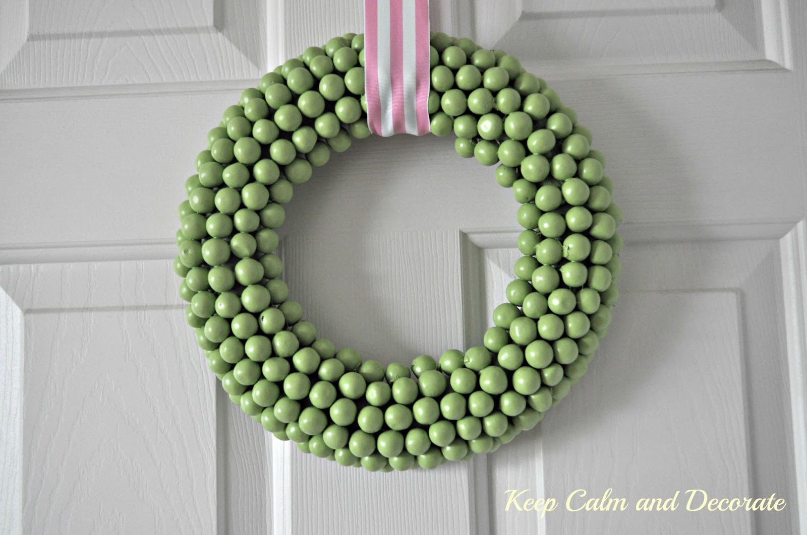 Spring Wreath. Click for 40 more #DIY #Wreath Ideas