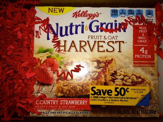Nutri-Grain Fruit & Oat Harvest Cereal Bars Review #NGHarvest