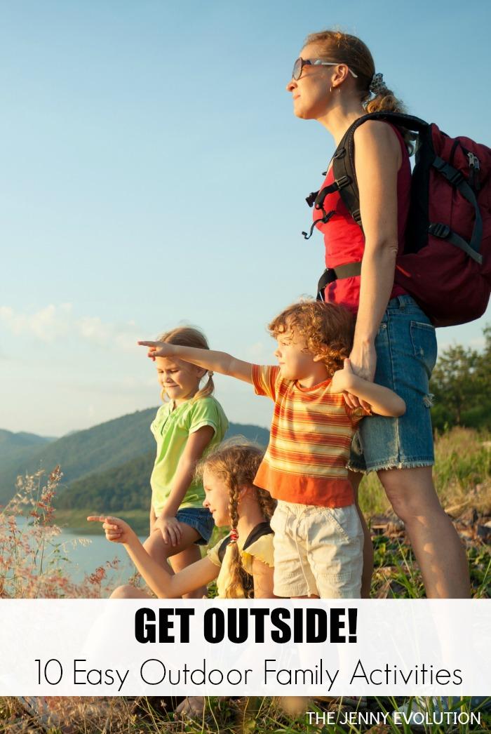 10 Easy Outdoor Family Activities