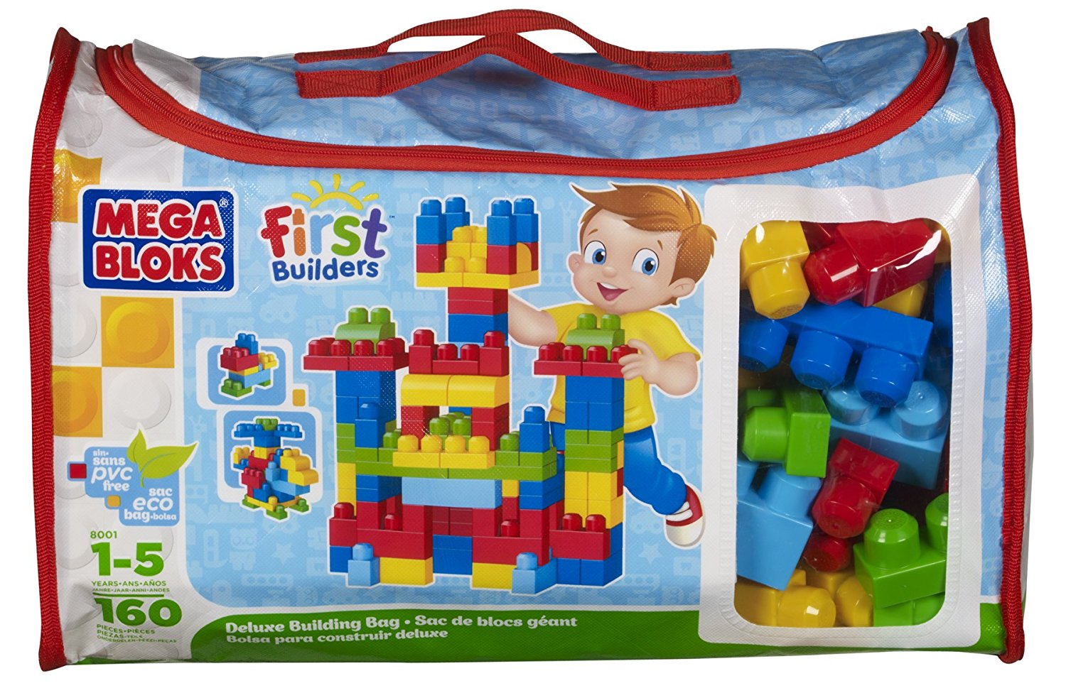 Mega Bloks First Builders Deluxe Building Bag Review Toyreview 23 99