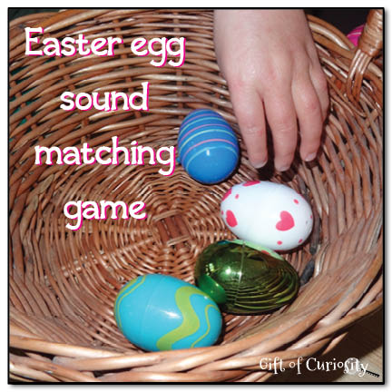 Easter Egg Sound Matching Game #easter