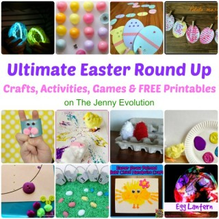 Ultimate Easter Round Up! Easter Crafts, Activities for Kids