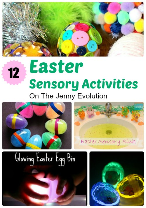 12 Terrific Easter Sensory Activities!  #sensory #easter