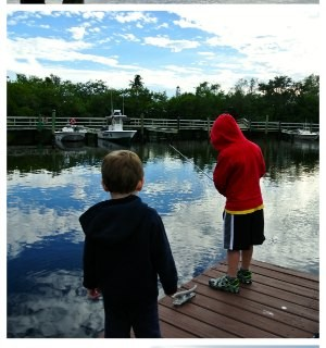 Gone Fishing Wordless Wednesday