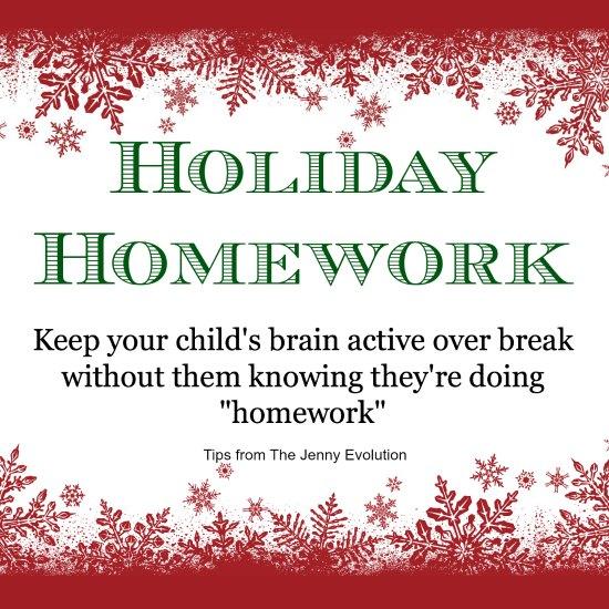 HolidayHomework