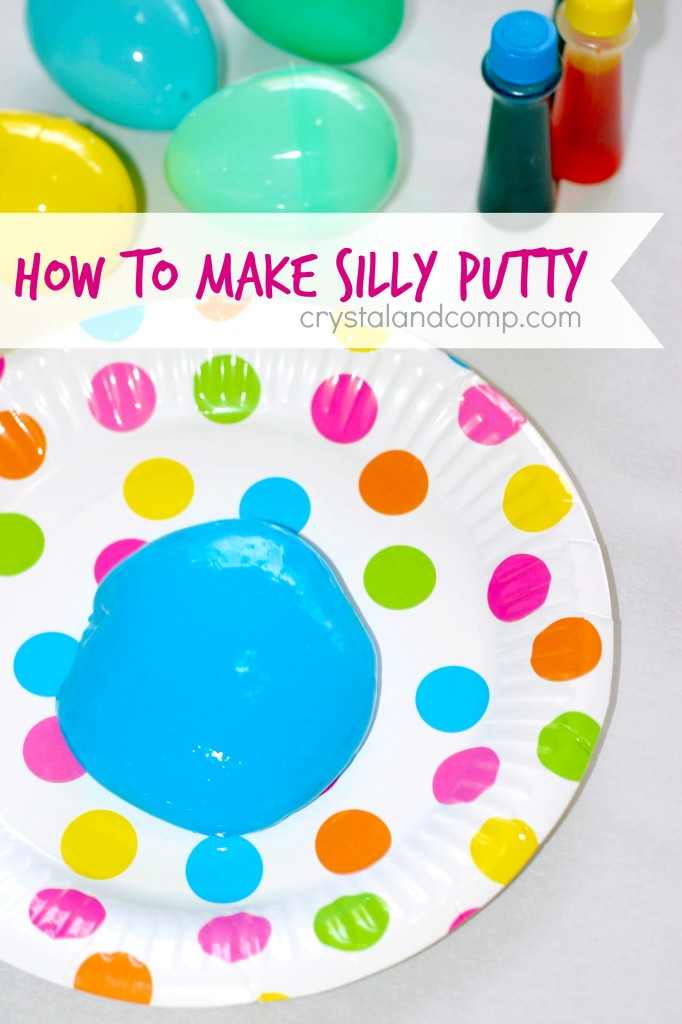 How to Make Your Own Silly Putty Tutorial By Crystal & Co.