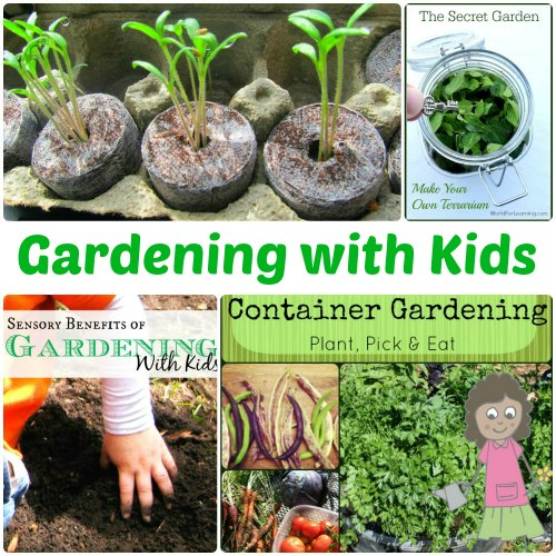 Gardening Activities with Kids from The Jenny Evolution
