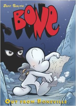 BONE #1: Out from Boneville by Jeff Smith
