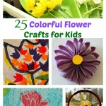 25 Colorful Flower Crafts for Kids