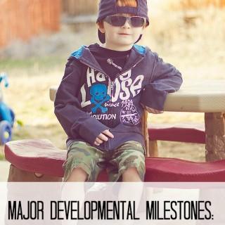 Major Developmental Milestones for Children Aged 3-5