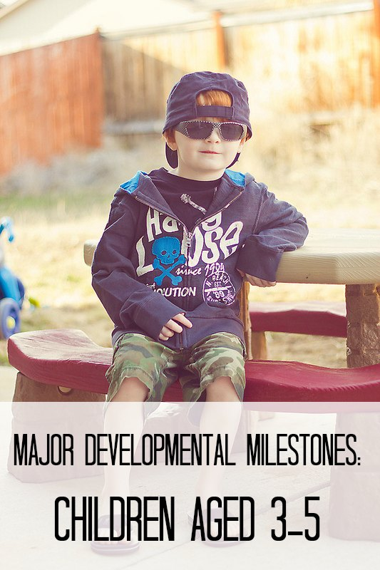 Developmental Milestones for Children 3-5