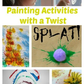 Painting Activities for Kids with a Twist