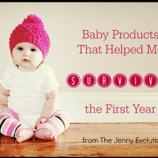 Baby Products That Helped Me Survive the First Year
