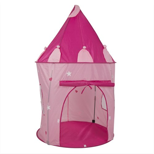 Girl's Pink Princess Castle Play Tent Review