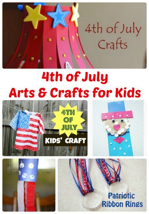 4th of July Arts and Crafts for Kids | The Jenny Evolution