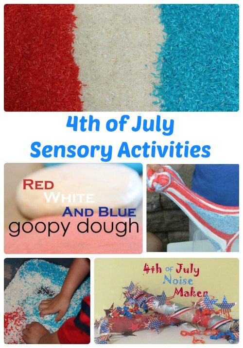 4th of July Sensory Activities | The Jenny Evolution