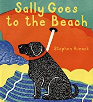 Sally Goes to the Beach #kidlit