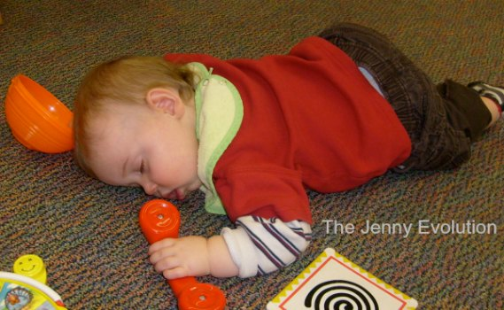 Hbomb would be on the go go go until he would literally fall asleep mid crawl.