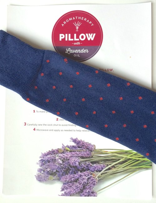 DIY Frugal Aromatherapy Pillow and Heating Pad