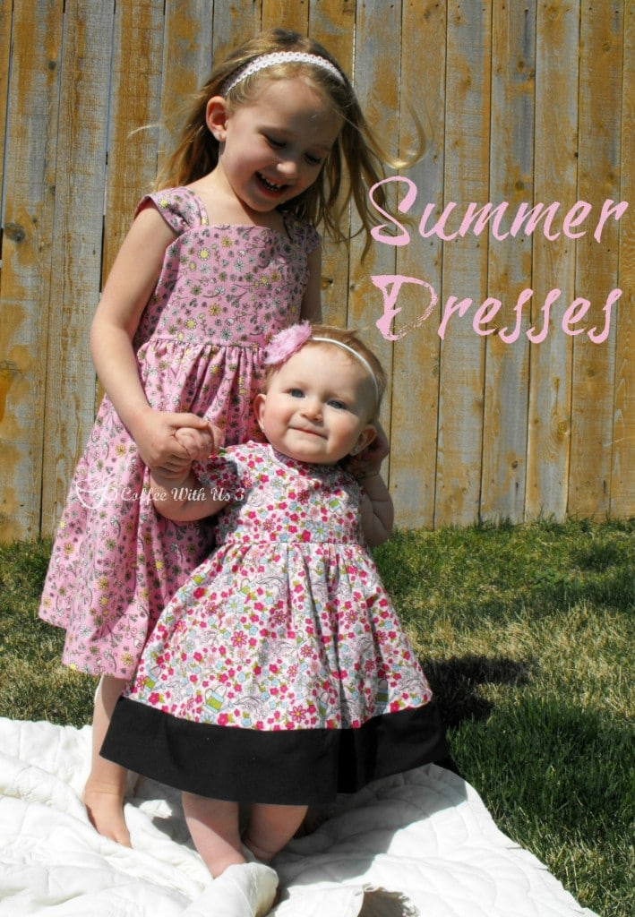 Aren't these just the most adorable summer dresses? Sewn by Coffee With Us 3