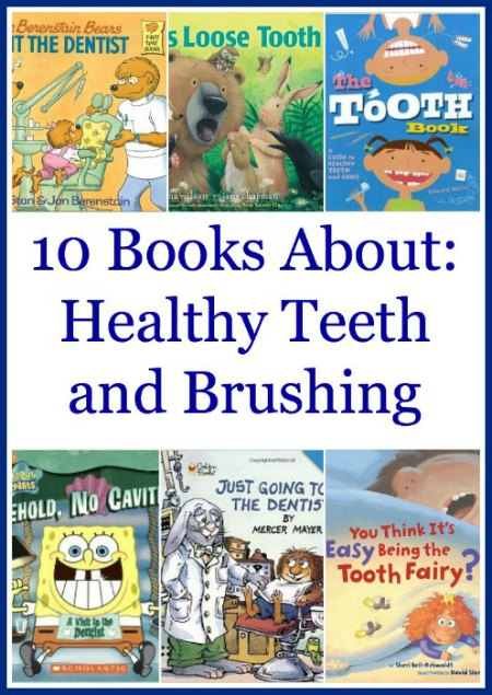 10 Books About Brushing Teeth for Kids