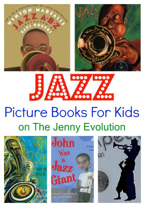 Wonderful Jazz Picture Books for Kids