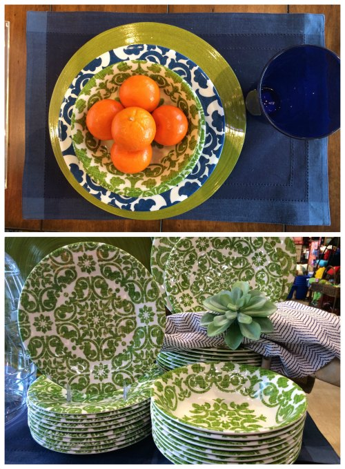 Melanie Outdoor Dinnerware Available at Pier 1 Imports
