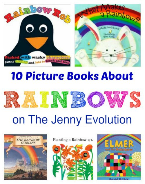 10 Picture Books About Rainbows