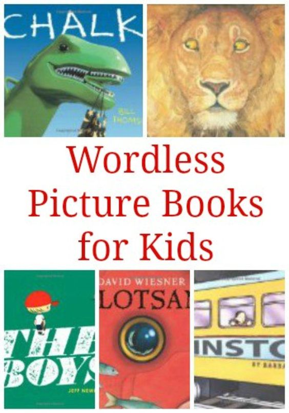Forget the Words: Wordless Picture Books for Children | The Jenny Evolution