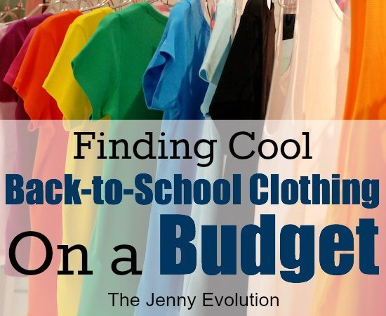How to go Back to School Clothes Shopping on a Budget.
