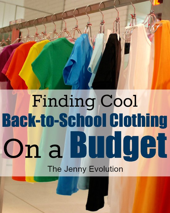 How to go Back to School Clothes Shopping on a Budget