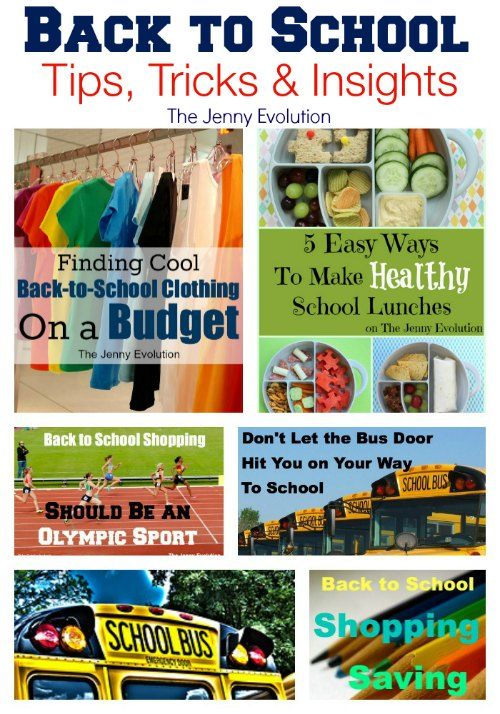 Back to School Tips, Tricks and Insights | The Jenny Evolution #backtoschool