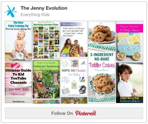 Everything Kids Pinterest Board