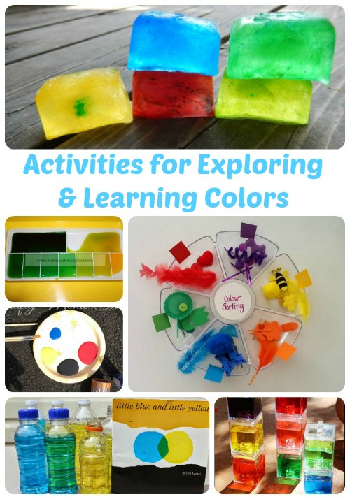 Activities for Exploring & Learning Colors | Mommy Evolution