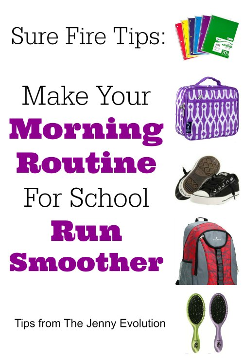 Sure-Fire Tips to Make Your Morning Routine For School Run Smoother | Mommy Evolution