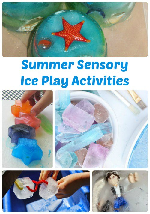 Summer Sensory Ice Play Activities for Kids | The Jenny Evolution