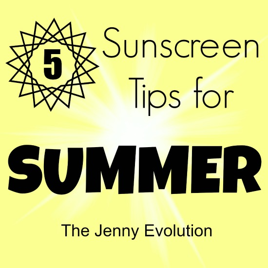 5 Sunscreen Tips for Summer | Mommy Evolution