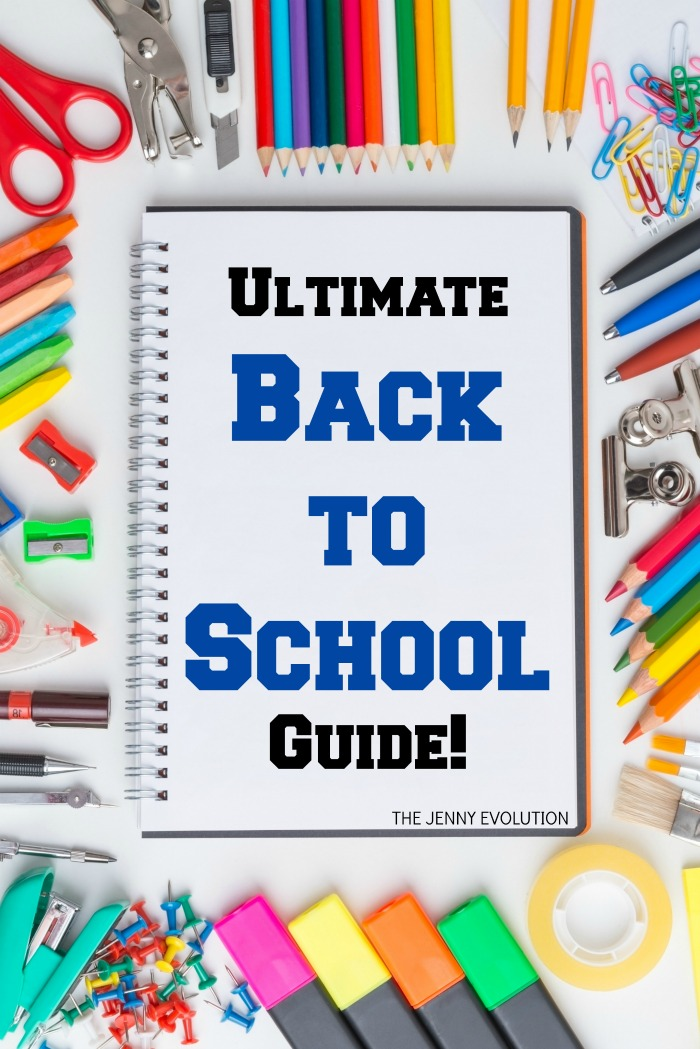 Ultimate Back to School Guide - with Back to school tips, crafts and activities.