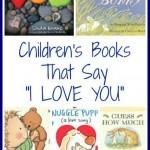 Children's Books That Say I Love You | The Jenny Evolution
