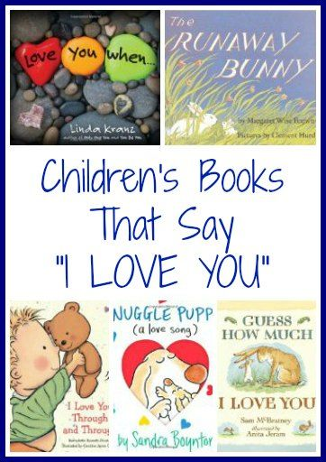 Children's Books That Say I Love You | The Jenny Evolution