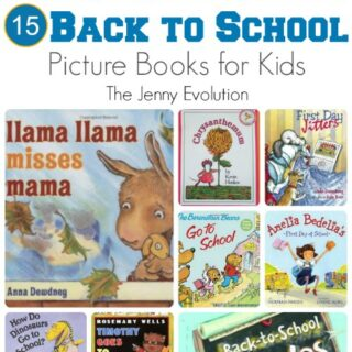 15 Back to School Picture Books for Kids