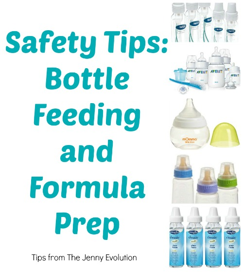 Great tips! Bottle Feeding Safety Tips and Formula Prep | The Jenny Evolution