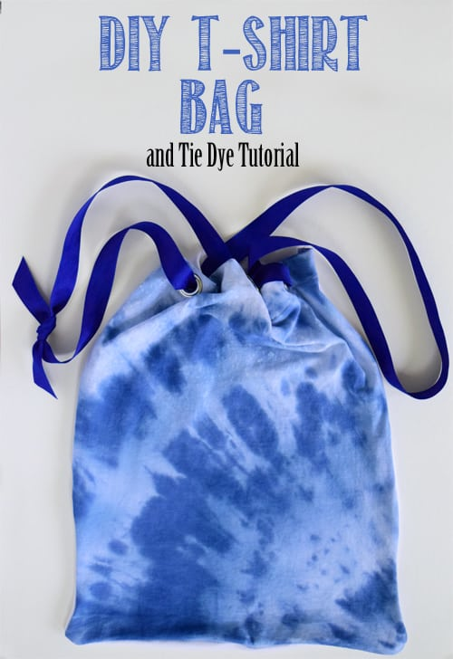 DIY T-Shirt Tie Dye Tutorial from Craving Some Creativity