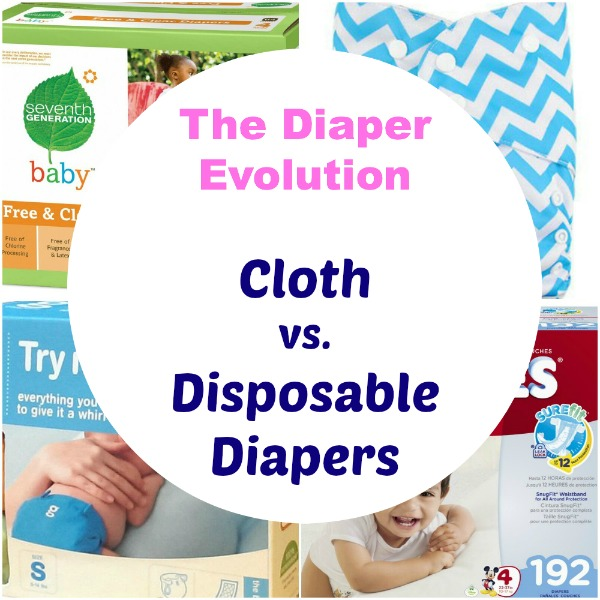 Cloth Diapers Versus Disposable Diapers: The Diaper Evolution
