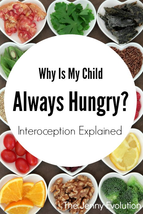 Interoception: Why Is My Child ALWAYS Hungry | Mommy Evolution
