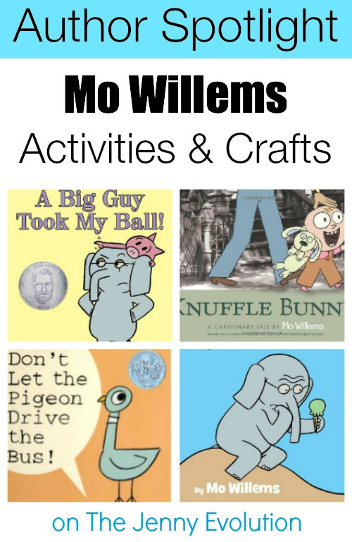 Mo Willems Spotlight: Crafts, Activities & Books Round-Up!