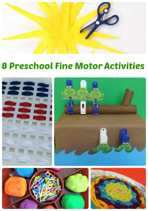 8 Fine Motor Activities for Preschool | Mommy Evolution