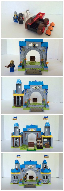 LEGO JUNIORS provides awesome imaginative fun and fine motor skills (Lego Juniors Knights' Castle 10676 Build)