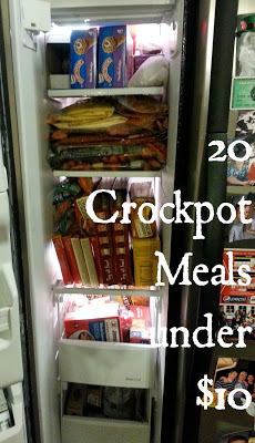 Wow! 20 Crockpot Meals for Under $10. All recipes by Chocolates and Crockpots