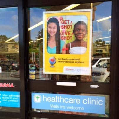 No Appointments Needed for the Healthcare Clinic at Walgreens